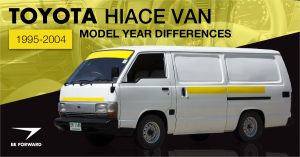 toyota hiace van be forward blog review