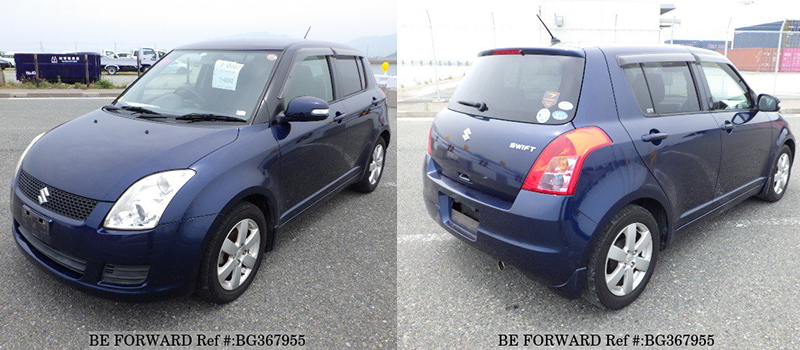 suzuki swift exterior vs alto