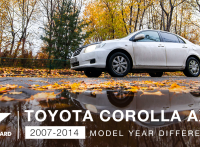 Toyota Corolla Axio Review: 2007-2014 Features, Fuel Economy Changes