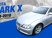 Toyota Mark X Review: 2004-2010 Model Year Features and Improvements