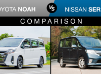 Toyota Noah vs Nissan Serena: Features & Fuel Consumption Comparison