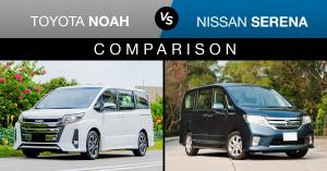 toyota noah vs nissan serena comparison