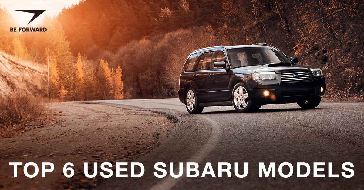 Top 6 Used Subaru Models on the Market