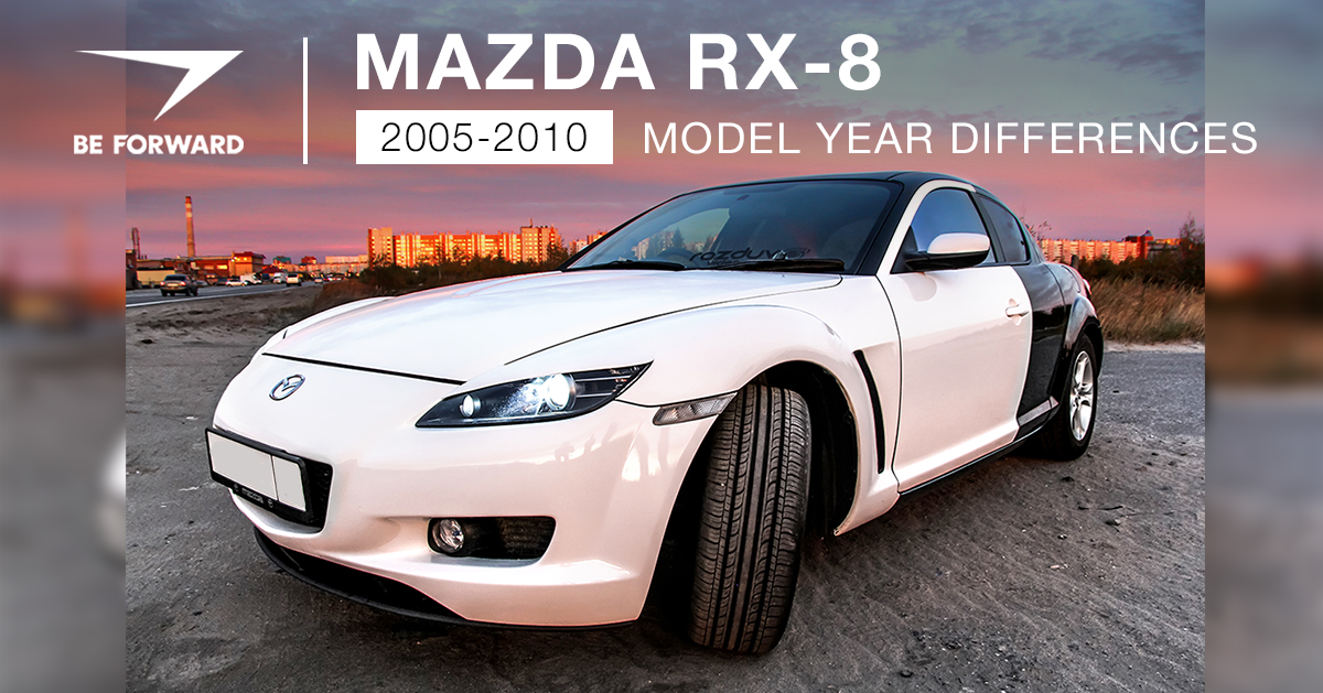 Mazda RX-8 Review: 2005-2010 Model Features and Changes