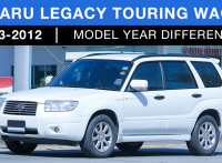 Subaru Legacy Touring Wagon Review: 2003-2012 Model Improvement and Changes