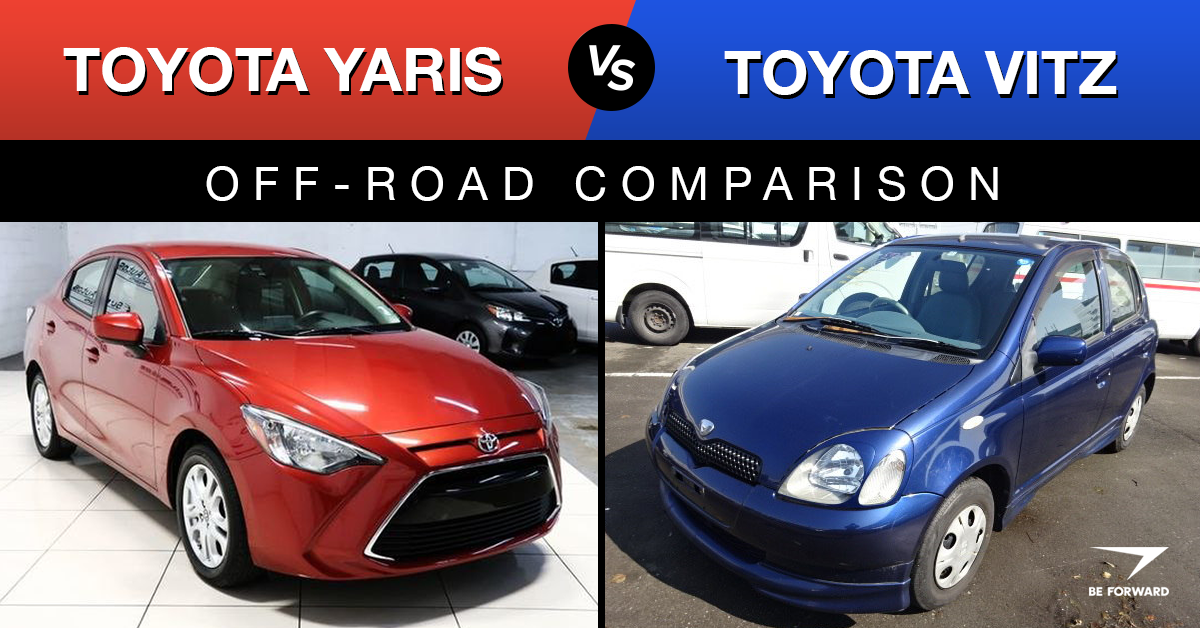 Toyota Vitz vs Yaris Car Comparison: What's the Difference?