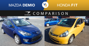 Mazda Demio vs Honda Fit Comparison