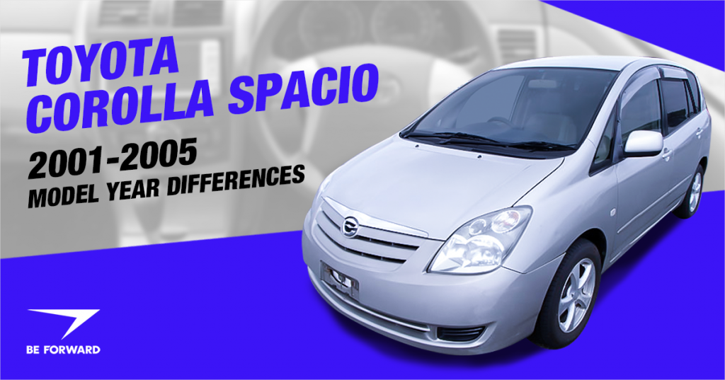 Toyota Corolla Spacio Review: 2001-2005 Model Improvements Features and Changes