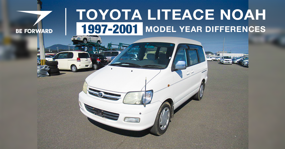 Toyota LiteAce Noah 1997-2001 Features, Improvements and Changes
