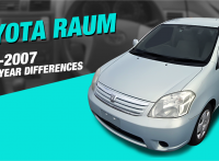 Toyota Raum Review: 2003-2007 Model Changes and Improvements