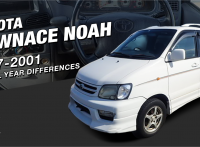 Toyota TownAce Noah 1997-2001 Model Features and Changes