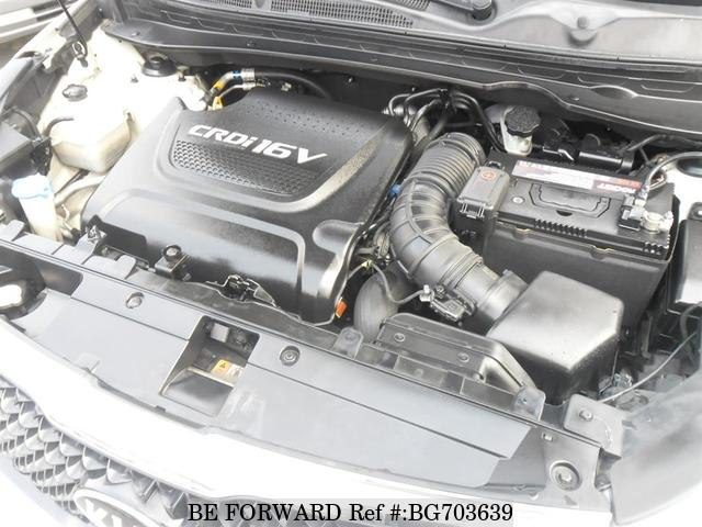 2015 KIA SPORTAGE engine