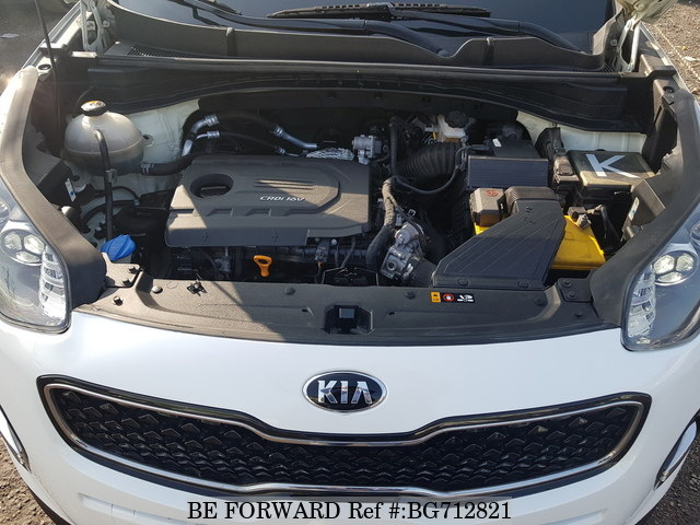 2016 KIA SPORTAGE engine