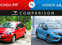 Honda Fit vs Honda Jazz Car Comparison