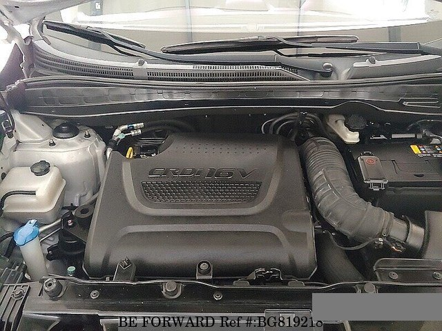 2013 HYUNDAI TUCSON engine