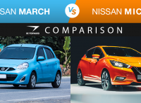 Nissan Micra vs Nissan March Comparison
