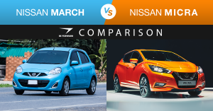 Nissan March vs Nissan Micra