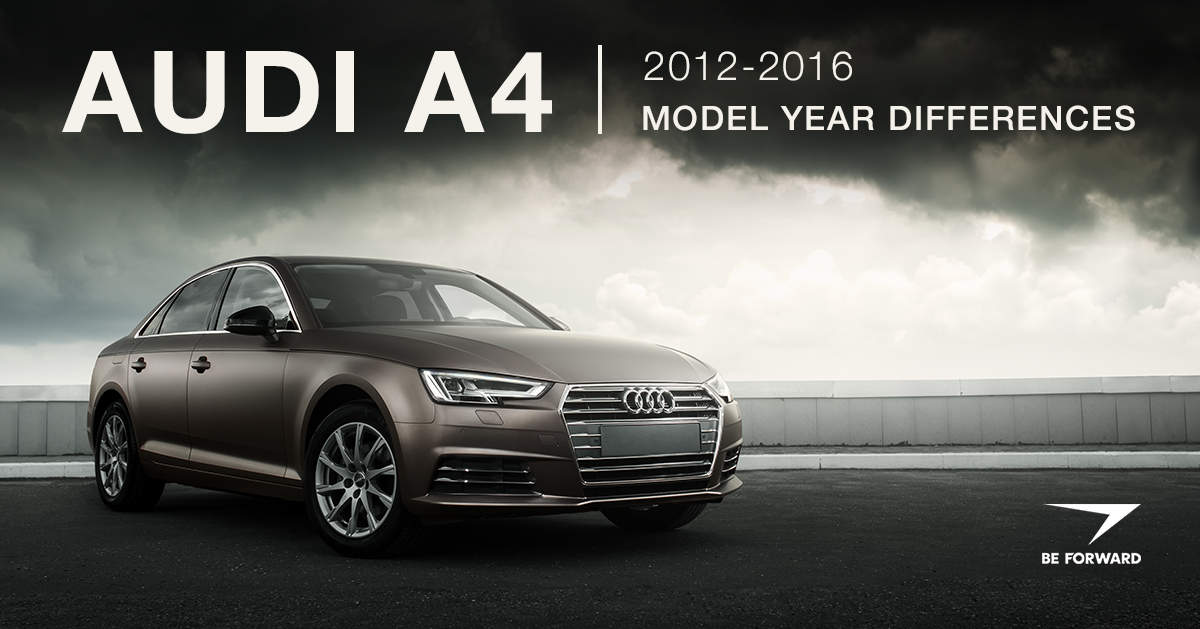 Audi A4 Review: 2012-2016 Model Changes and Improvements