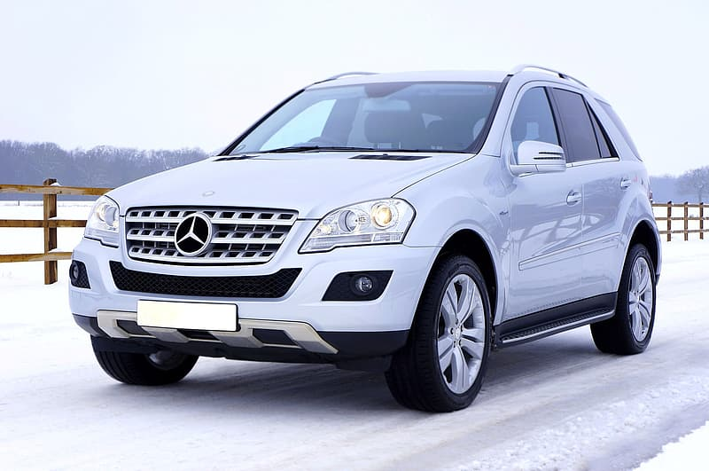 https://www.pikrepo.com/fqbdv/silver-mercedes-benz-ml-class-suv-on-snow-field