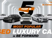 Top 5 Most Popular Used Luxury Cars from BE FORWARD