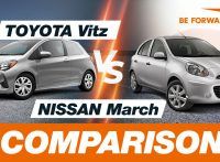 Toyota Vitz vs Nissan March Comparison
