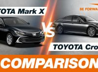 Toyota Mark X vs Toyota Crown Comparison