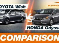 Toyota Wish vs Honda Odyssey Comparison